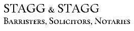 Stagg & Stagg • Barristers, Solicitors, Notaries