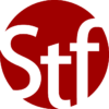 Dark Red version of the STF logo.