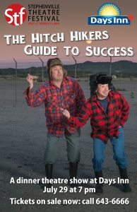 The Hitchhikers Guide to Success @ Days Inn Stephenville